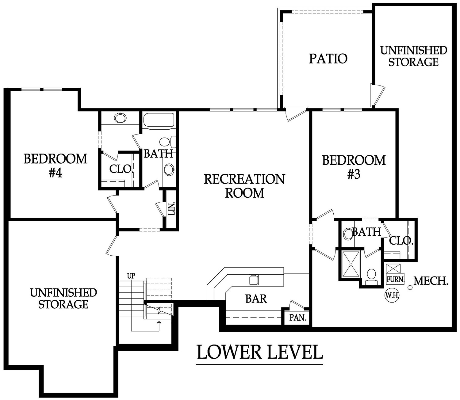 Reverse floor plan thefloors co for Reverse house plans