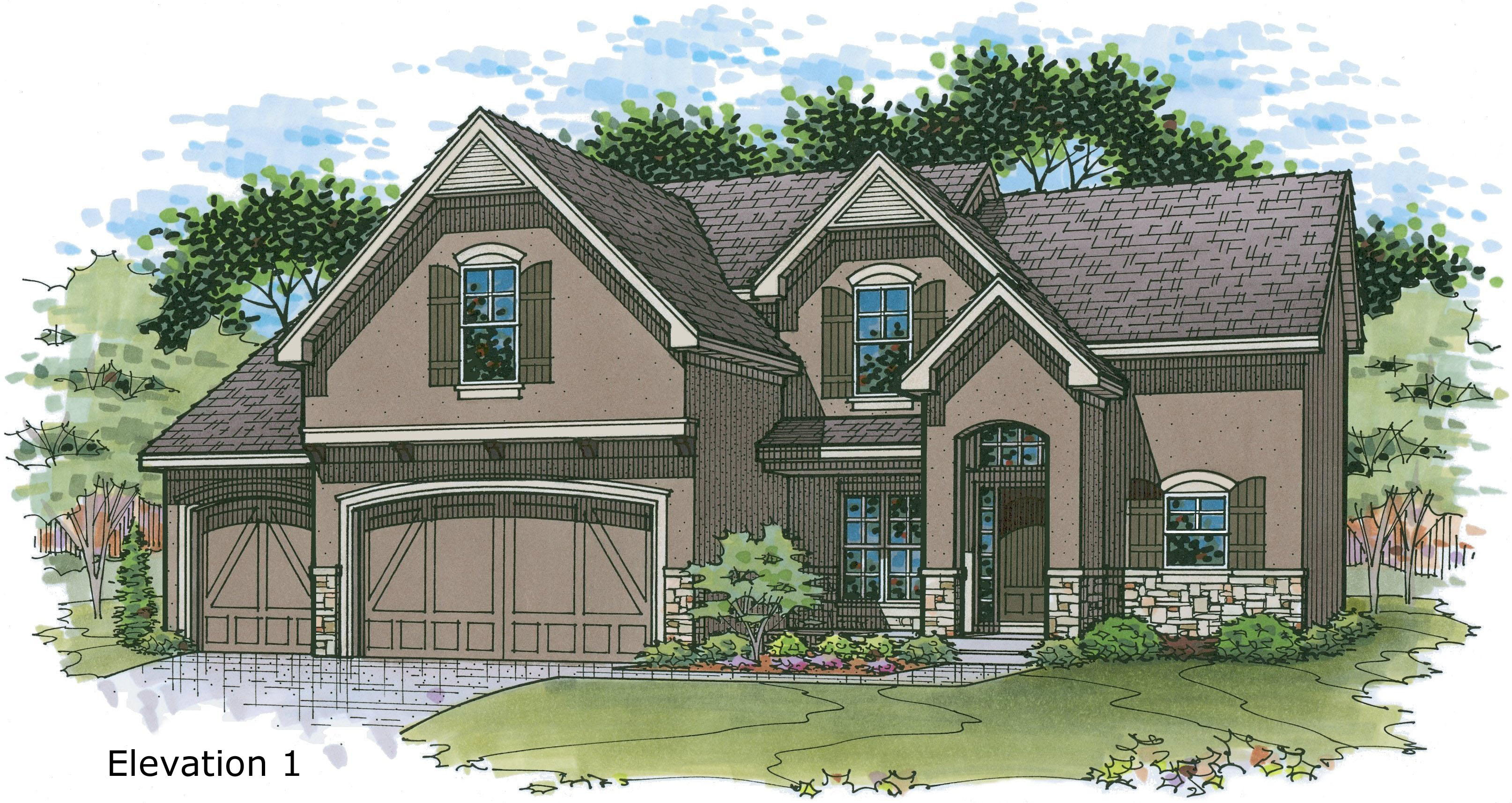 Ashton III New Homes in Overland Park