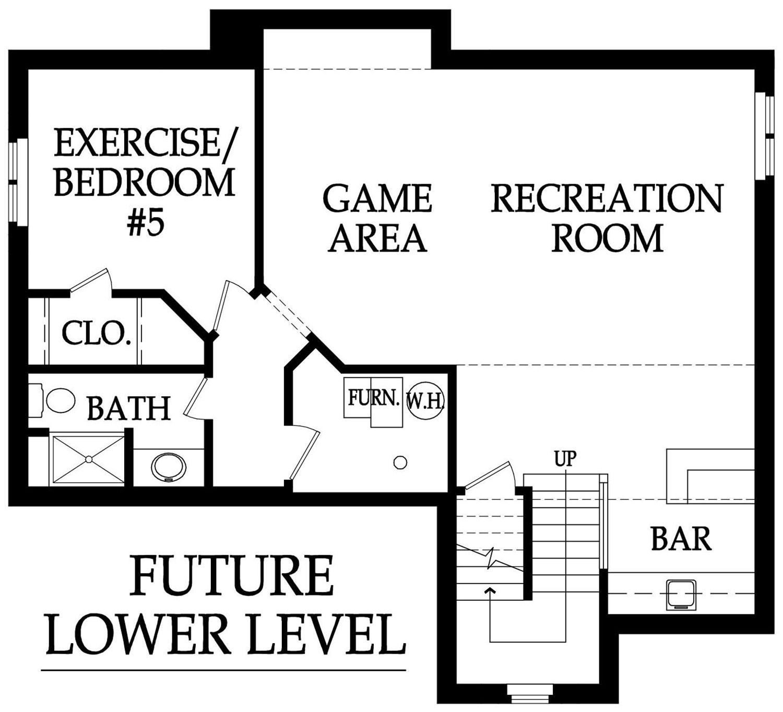 Destin 3.5 lower level rendering