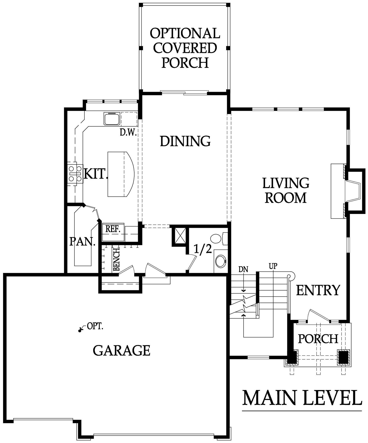 Destin 3.5 main level rendering