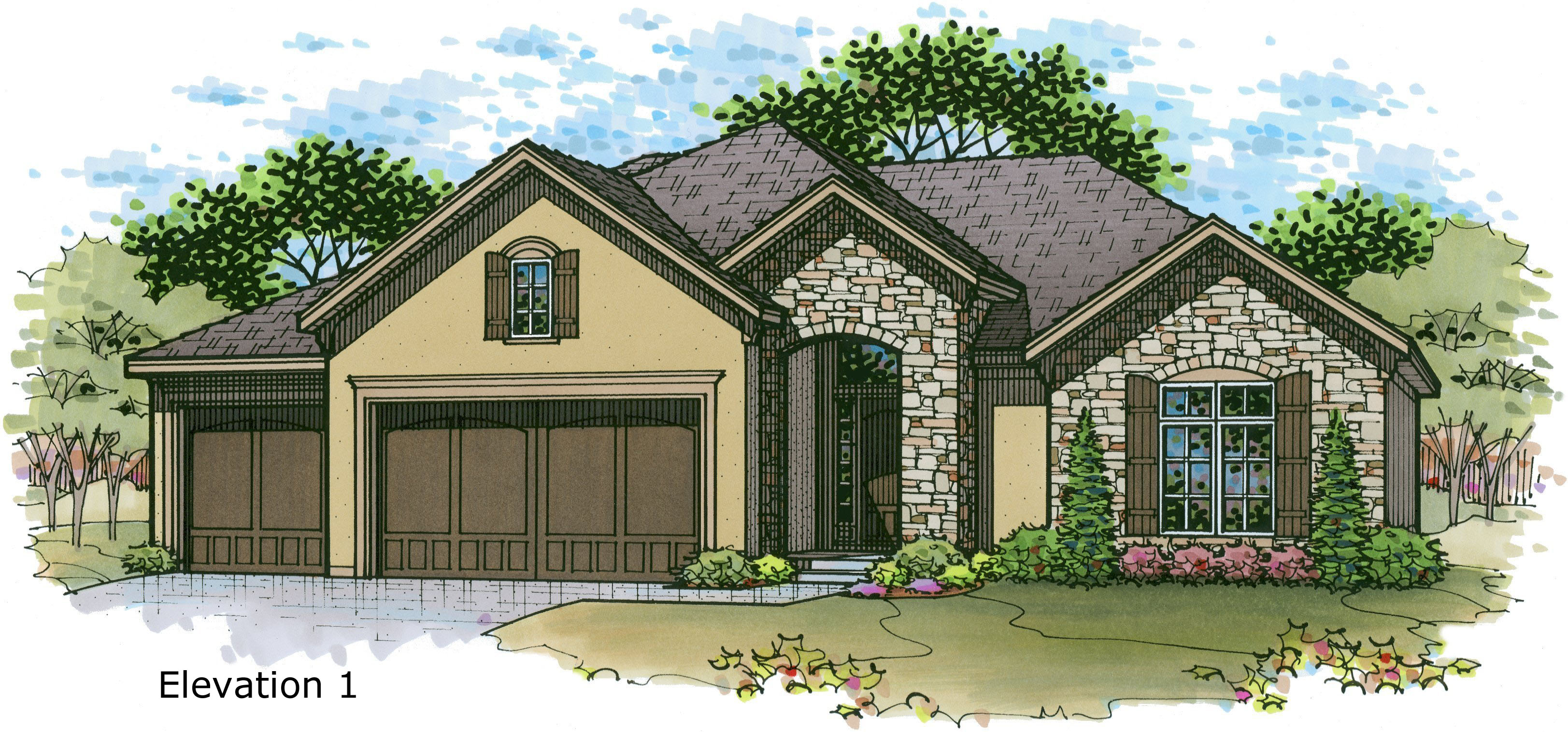 The Dillon by Rodrock Homes – Reverse Floor Plan Home