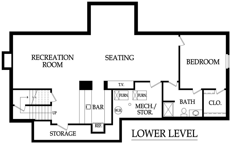 Hepton optional lower level rendering