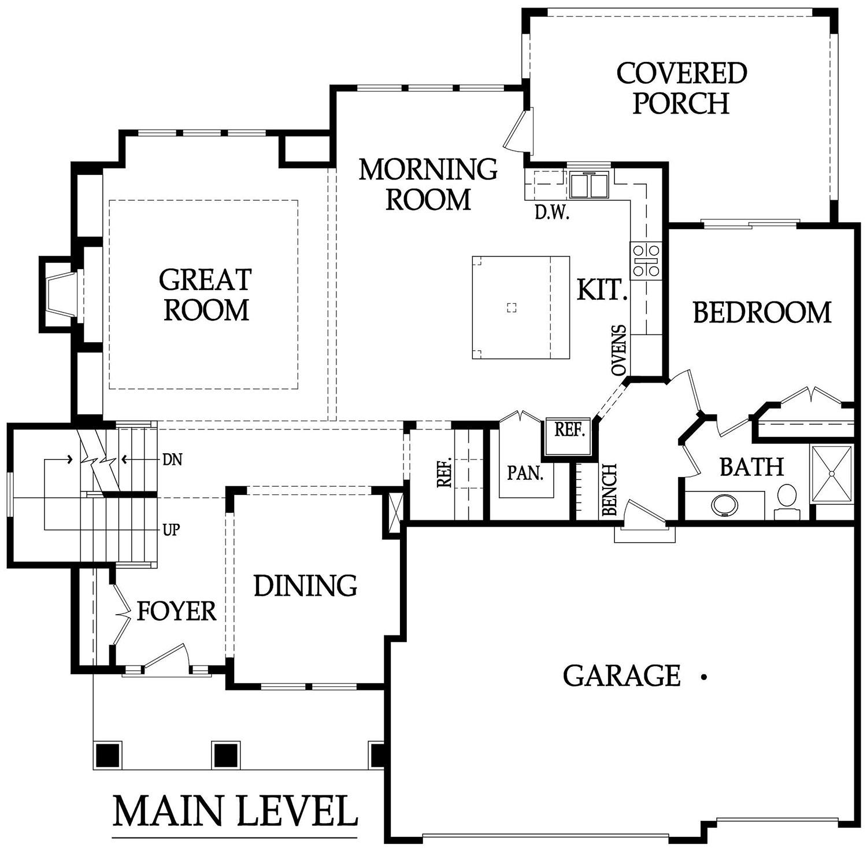 Lancaster EX main floor rendering