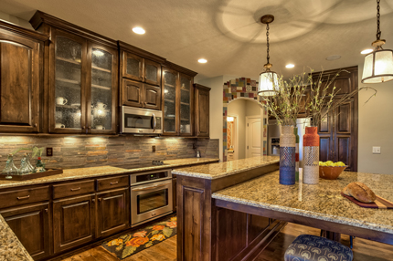 Fall parade quick guide find your dream home fast for Model home kitchens