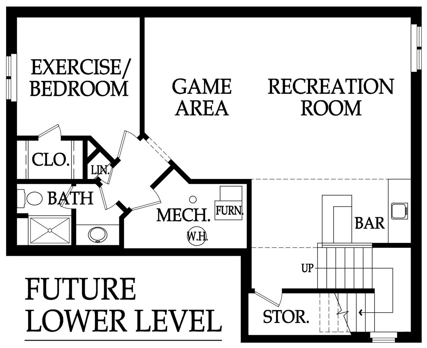 Monte Carlo Optional basement layout