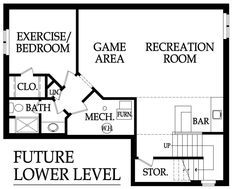 Monte Carlo Optional basement layout