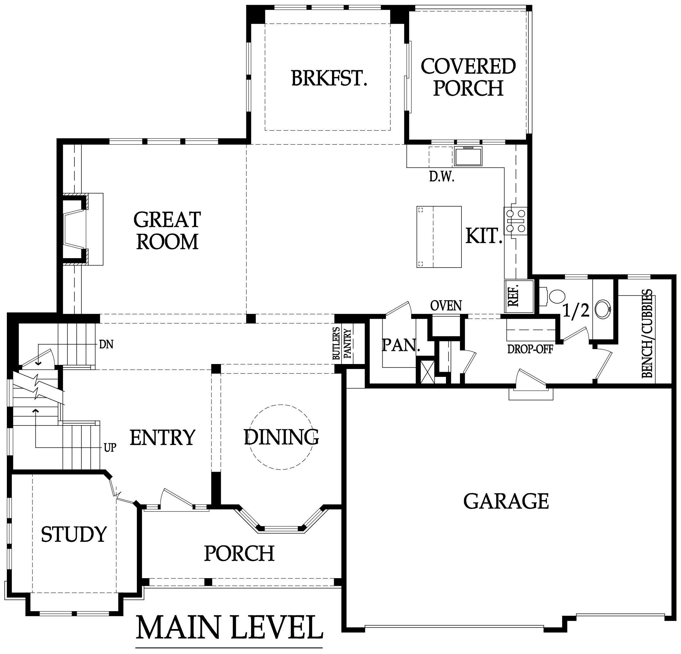 Roanoke first floor