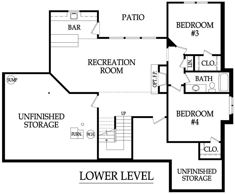 Sonoma lower level rendering