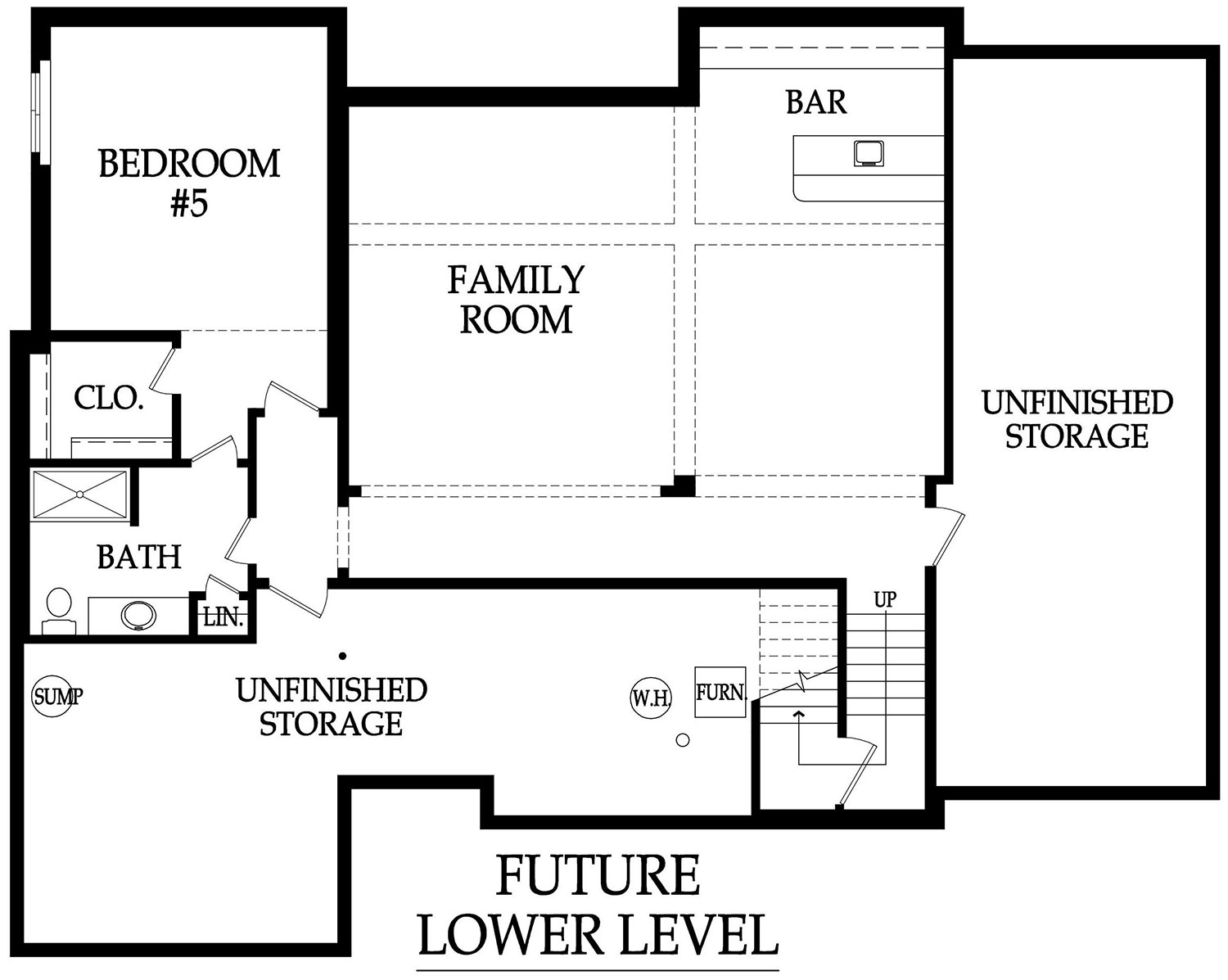 Sumerlin EX optional basement layout